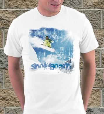Сноуборд цветной