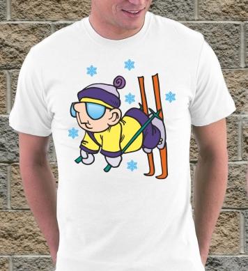 Лыжник смешной