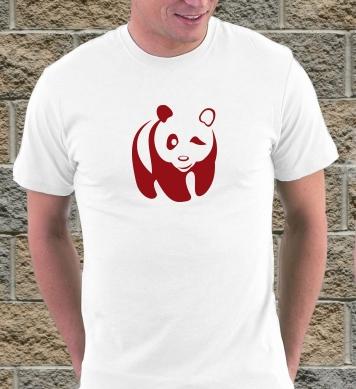 Панда подмигнула