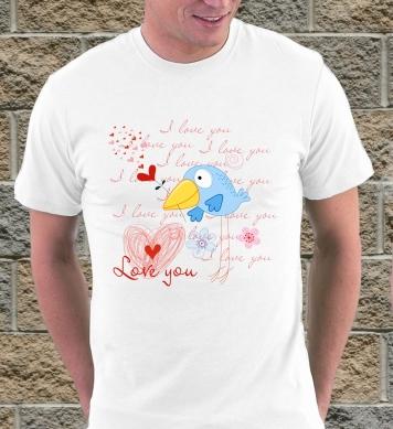 Birds in love man
